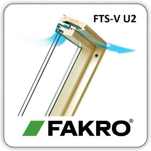 Окно ФАКРО FTS-V U2 – 66*98