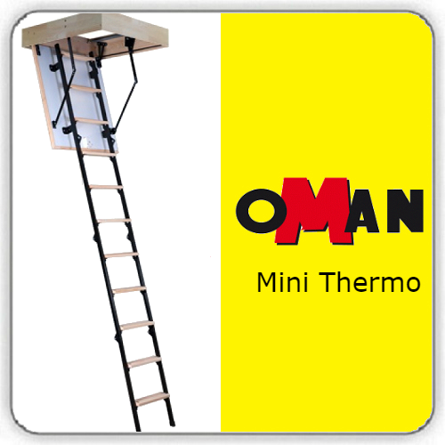 Чердачная лестница Oman Mini Termo — 60-100-265