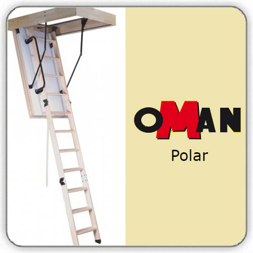 Чердачная лестница Oman POLAR — 70-120-280