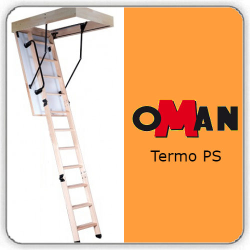 Чердачная лестница Oman TERMO PS — 70-120-280