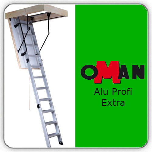Чердачная лестница Oman ALU PROFI EXTRA