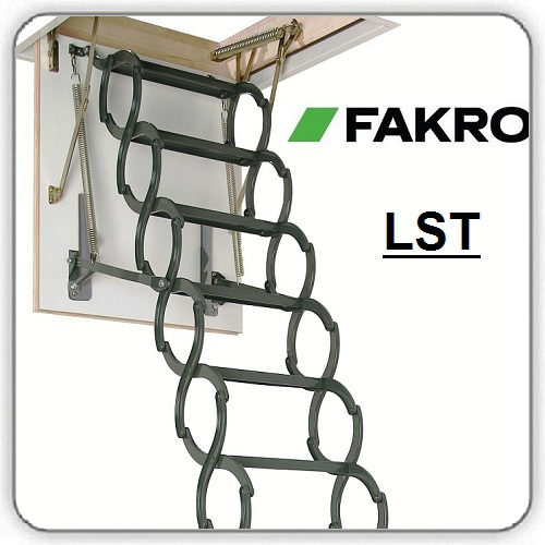 Фото Чердачная лестница FAKRO LST - Будсервис