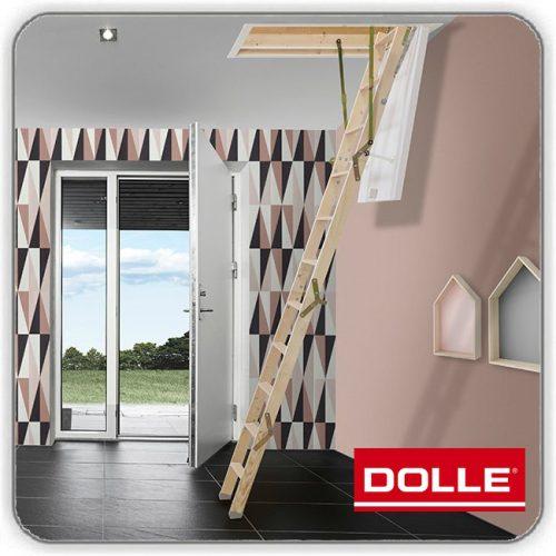 Чердачная лестница Долле CLICK FIX 36 Gold Mini