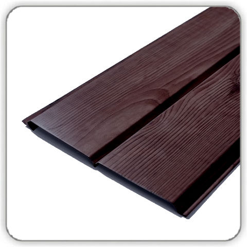 Стальпанель Доска 0.4 Dark Wood - Будсервис