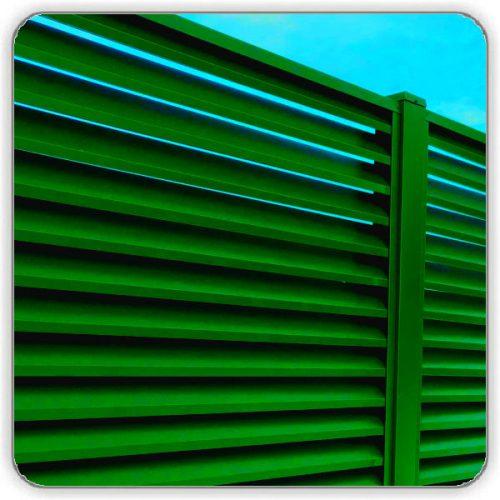 Забор Жалюзи Салатовый 6002 - купить