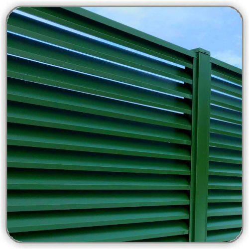 Забор Жалюзи Зеленый 6005 - Киев