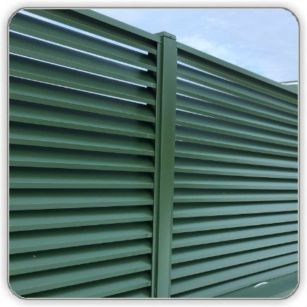 Забор Жалюзи Зеленый 6020 RAL цена