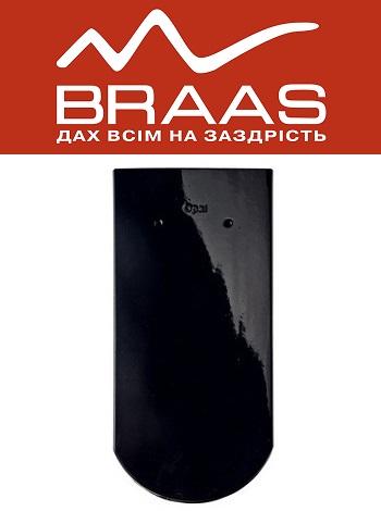 Braas Opal - Бриллиантово-черный Топ Глазурь - Керамическая черепица