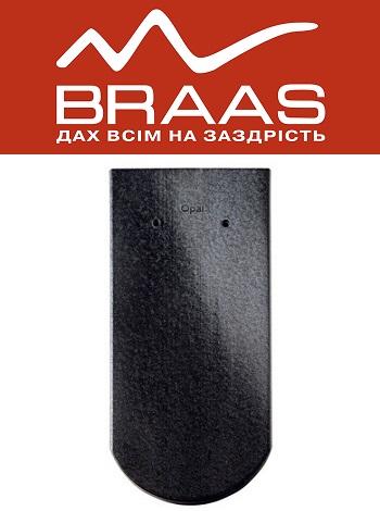 Braas Opal - Хрустально-черный Глазурь - Керамическая черепица