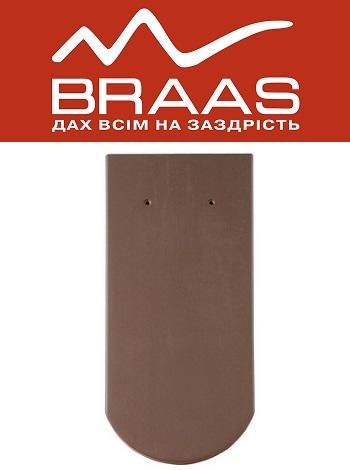 Braas Opal - Коричневый Ангоб - Керамическая черепица