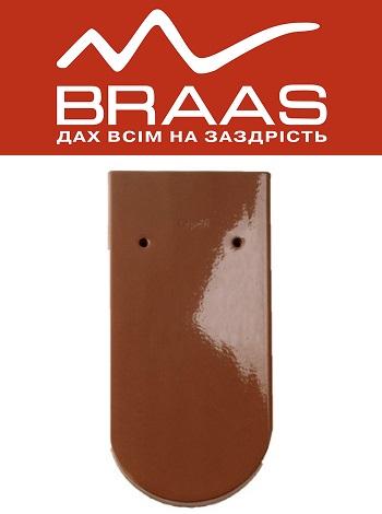 Braas Opal - Осенне-красный Топ Глазурь - Керамическая черепица
