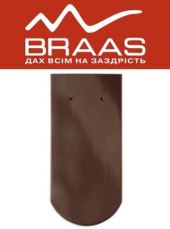 Braas Opal - Тек Глазурь - Керамическая черепица