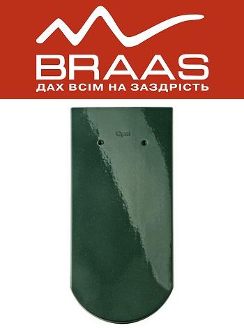 Braas Opal - Зеленый Топ Глазурь - Керамическая черепица