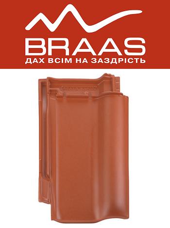 Braas Rubin 13v - Медный Ангоб - Керамическая черепица