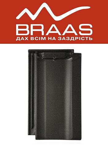 Braas Topaz 11v - Хрустально-серый Топ Глазурь - Керамическая черепица