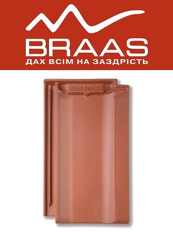 Braas Topaz 11v - Медный Ангоб - Керамическая черепица