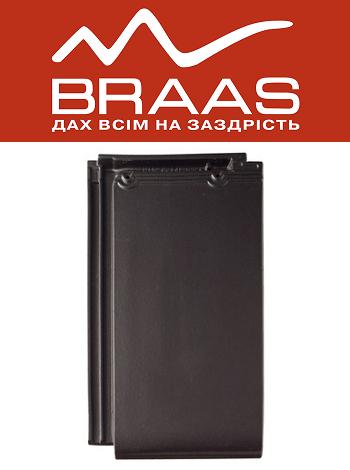Braas Турмалин – Антрацит Ангоб – Керамическая черепица