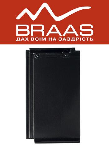 Braas Турмалин – Черный Глазурь – Керамическая черепица