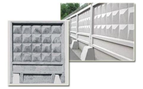 Заборные плиты бетон Киев ООО ТК БУДСЕРВИС