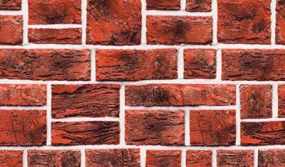 Профнастил под кирпич, рваный кирпич Киев RUSTIС brick ООО ТК БУДСЕРВИС 044-222-55-03