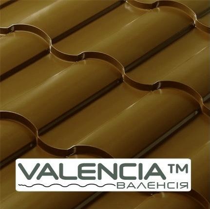 Металлочерепица Валенсия 8017