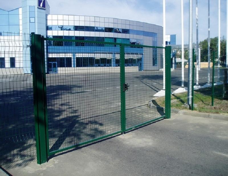 Ворота из сварной сетки