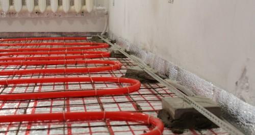 Теплый пол водяной Киев Будсервис