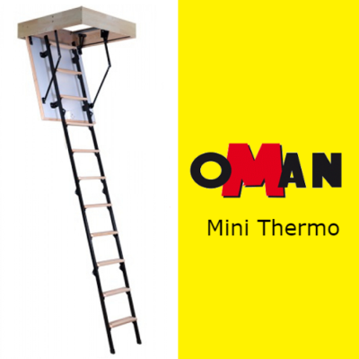 Чердачная лестница MINI TERMO 70-100-265
