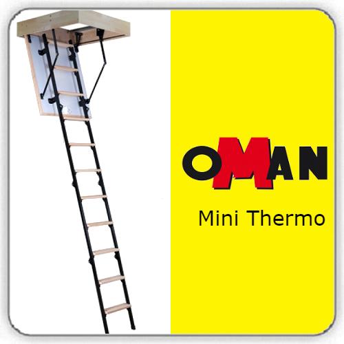 Чердачная лестница Oman Mini Termo — 70-100-265