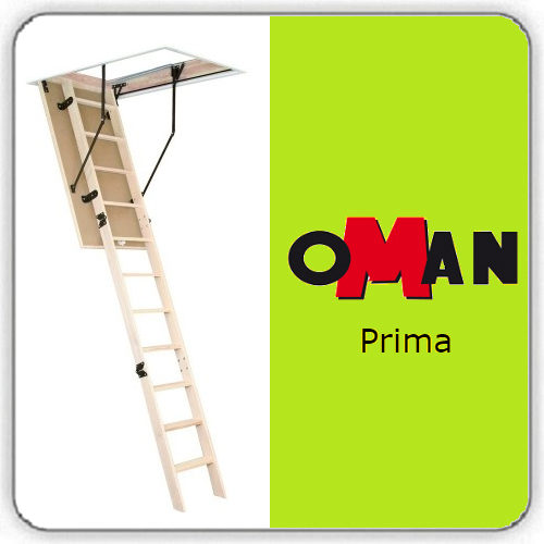 Чердачная лестница Oman PRIMA — 60-130-280