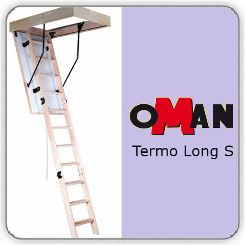 Чердачная лестница Oman TERMO LONG S