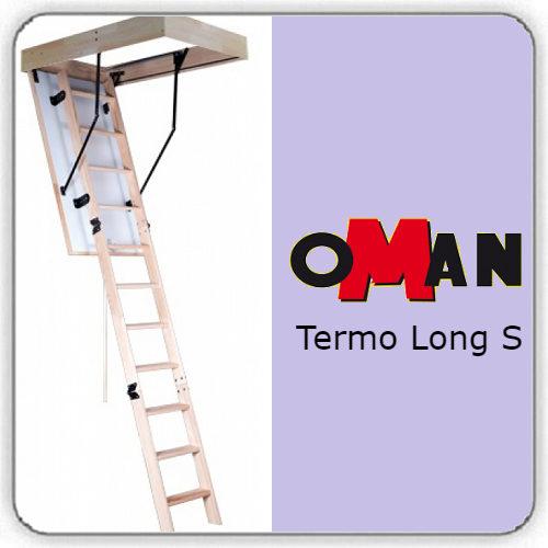 Чердачная лестница Oman TERMO LONG S — 70-130-335