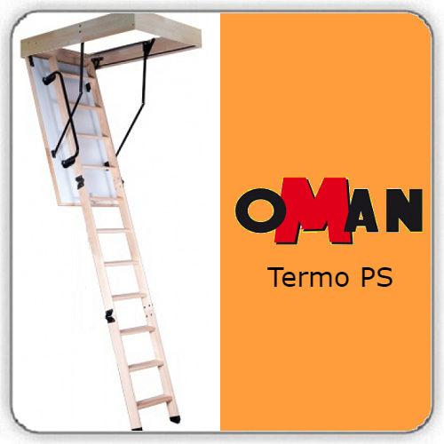 Чердачная лестница Oman TERMO PS — 60-130-280