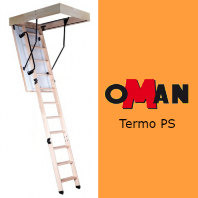 Чердачная лестница Oman TERMO PS — 70-130-280