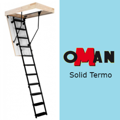 Чердачная лестница SOLID TERMO — 70-120-280