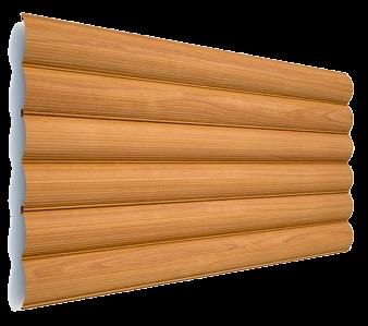 Блок-хаус металлический - цвет Ольха - Будсервис