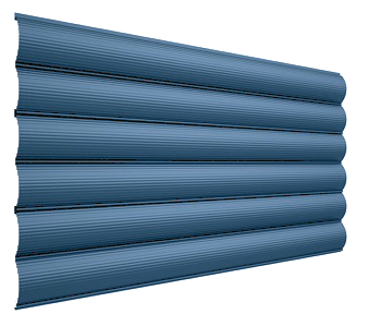 Блок-хаус металлический - цвет по выбору RAL - Будсервис
