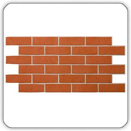 Фасадные панели Деке BERG (ГОРА) — цвет Кирпичный