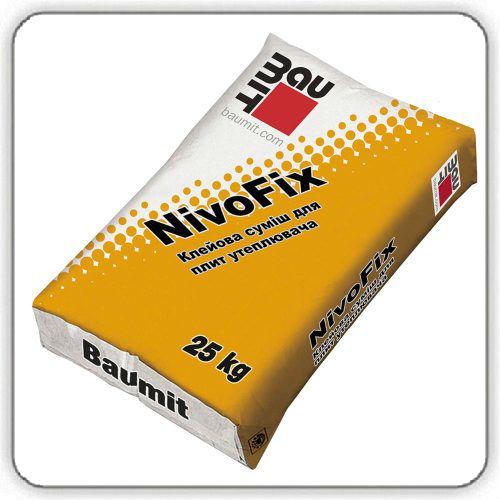 Клей для утеплителя Baumit NivoFix , 25 кг