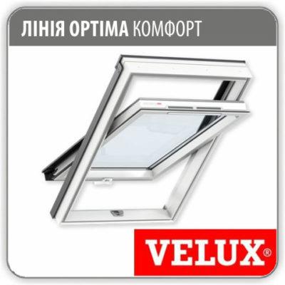 Мансардное окно Velux GLP 0073 ПВХ