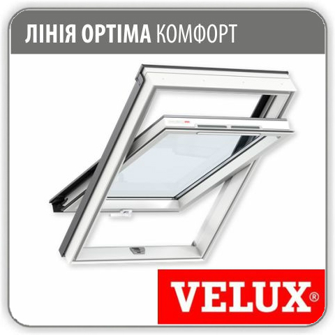 Мансардное окно Velux GLP 0073 ПВХ - 66*98