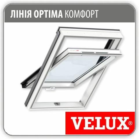 Мансардное окно Velux GLP 0073 ПВХ - 78*118