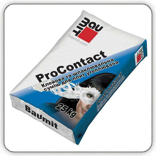 Смесь армирующая Baumit ProContact, 25 кг