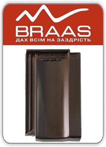 Керамическая черепица Braas Topaz 13v – Тек Глазурь цена