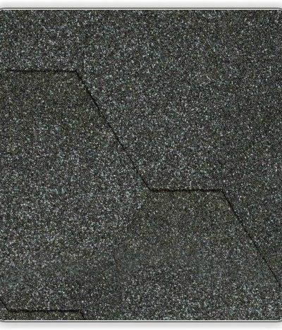 Битумная черепица Акваизол Мозаика - цвет Гавайский песок