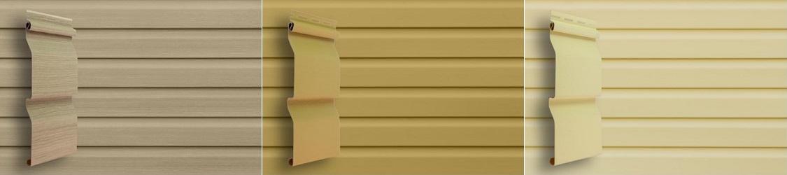 Сайдинг для фасада дома или фронтона - Будсервис