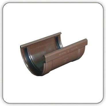 Соединитель желоба на резинках Plastmo - 125-90 - Будсервис