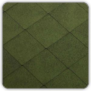 Битумная черепица Катепал FOXY – цвет Зеленый