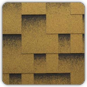 Битумная черепица Катепал ROCKY – цвет Золотой песок