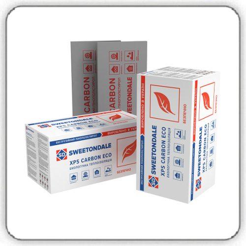 Экструзионный пенополистирол SWEETONDALE CARBON ECO 1180х580х100 - Будсервис